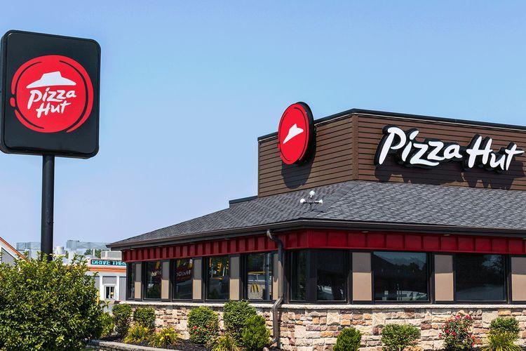 Ilustrasi restoran Pizza Hut.