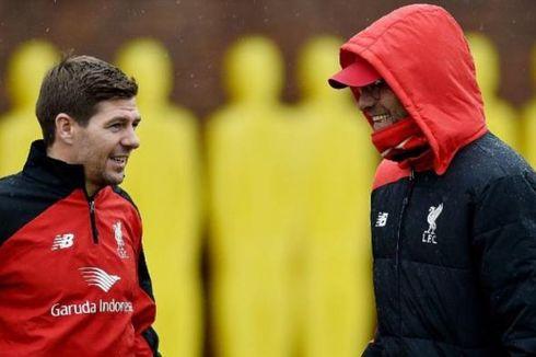 Legenda Liverpool Tak Mau Lihat Steven Gerrard Gantikan Juergen Klopp