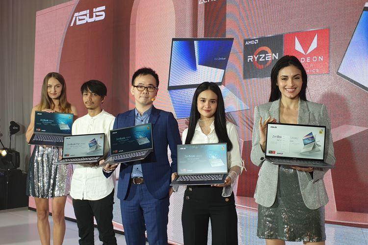 Peluncuran Asus ZenBook terbaru di Jakarta, Kamis (14/11/2019).