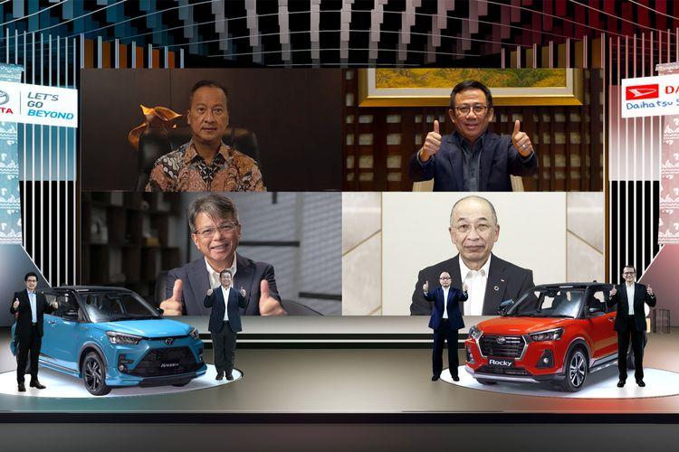 Kolaborasi Toyota Raize-Daihatsu Rocky