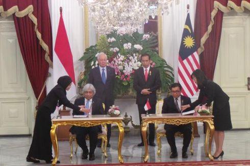 Penculikan WNI, TKI dan Batas Wilayah Jadi Bahasan Jokowi-PM Malaysia