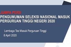 20 PTN Penerima Terbanyak Peserta SNMPTN 2020, Siapa Paling Banyak?