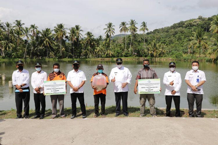 Salah satu daerah penerapan ikan mas mustika sebagai hasil riset BRPI terletak di Pasaman, Sumatera Barat.