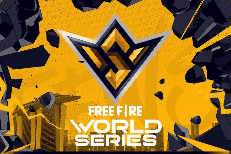 Ilustrasi Free Fire World Series 2021 Singapura.