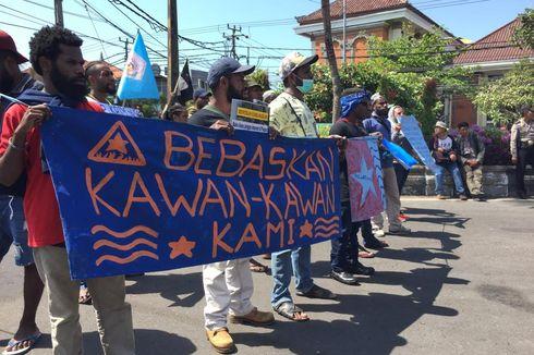 Mahasiswa Papua di Bali Gelar Aksi Damai Minta Pembawa Bendera Dibebaskan