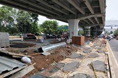 [BERITA FOTO] Pembangunan Skatepark di Kolong Flyover Pasar Rebo