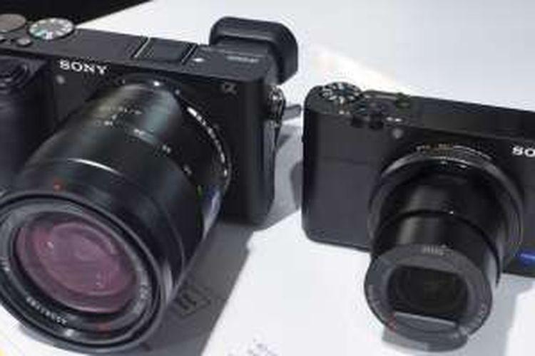 Sony A6500 dan RX100 V