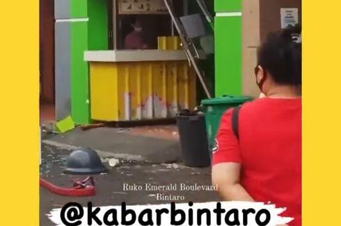 Ledakan di Tempat Laundry Bintaro, Diduga akibat Tabung Gas Bocor