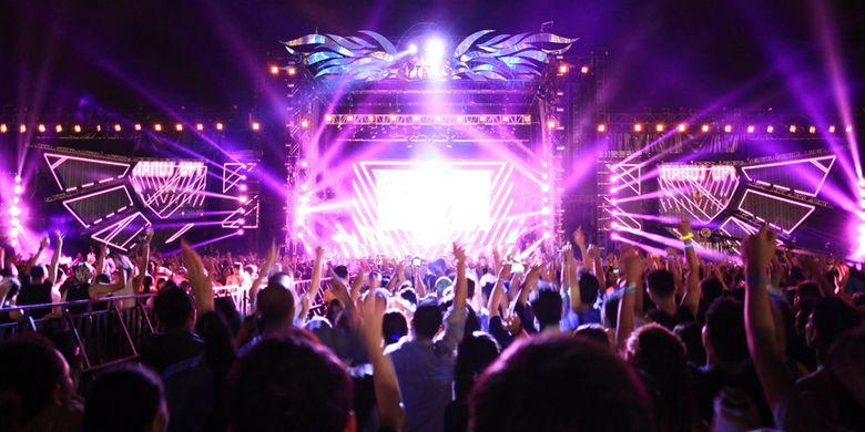 Ilustrasi festival musik