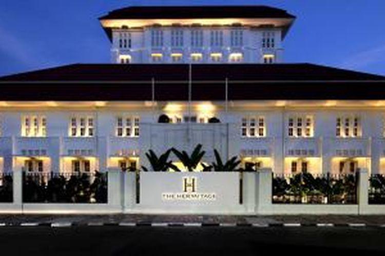 The Hermitage Hotel. Berlokasi di Menteng-Jakarta