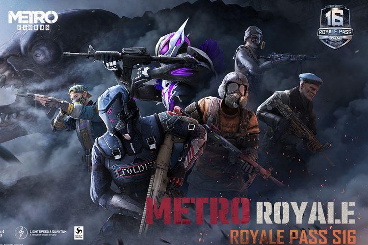 PUBG Mobile resmi mengeluarkan sebuah Royale Pass Season 16  bertema ?Metro Royale?.