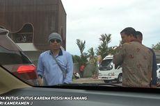 Anang Hermansyah Beraksi Jadi Tukang Parkir, Dua Mobil Tabrakan