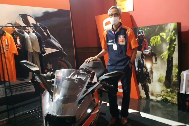 M Setiawan, GM Marketing dan Sales Premium Motorindo Abadi