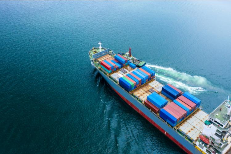 Ilustrasi perdagangan internasional