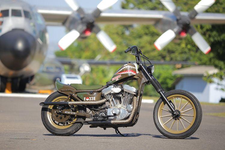 Chopper Belo Negoro, luck draw Kustomfest 2018