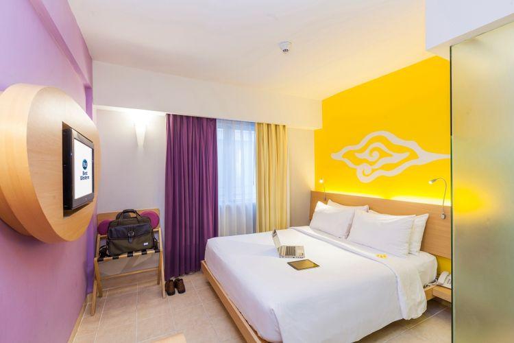 Kamar standart di Best Western Kuta Beach.