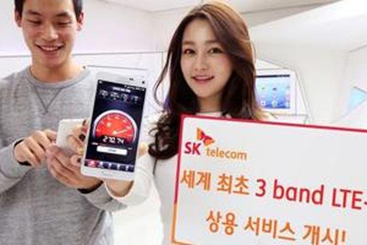 Samsung Galaxy Note 4 S-LTE mendukung 4G LTE kategori 9