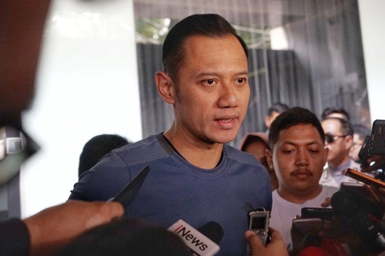 Komandan Komando Satuan Tugas Bersama (Kogasma) Partai Demokrat, Agus Harimurti Yudhoyono atau AHY saat ditemui di kantor AHY Foundation, Jakarta Selatan, Rabu (13/6/2018).