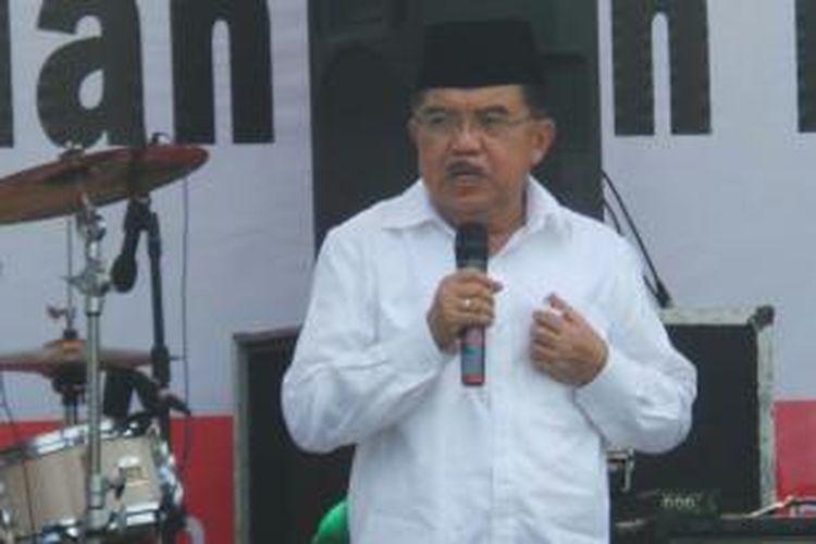 Calon wakil presiden Jusuf Kalla