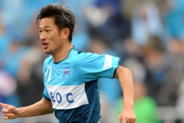 Striker Yokohama FC, Kazuyoshi Miura.