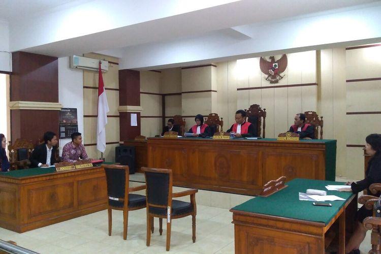 Sidang lanjutan gugatan terhadap Ashanty Hermansyah dengan agenda pembuktian di Pengadian Negeri (PN) Purwokerto, Jawa Tengah, Rabu (19/2/2020).