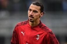 Kabar Buruk bagi AC Milan, Ibrahimovic Terancam Absen hingga Akhir Musim