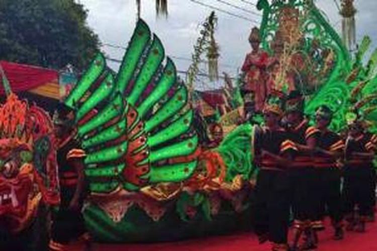 Festival Kuwung di Banyuwangi, Jawa Timur.