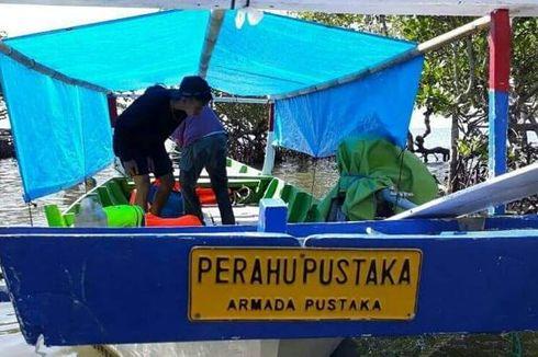 Kisah Perahu Pustaka Jelajahi Pesisir Sulawesi agar Anak-anak Bisa Membaca