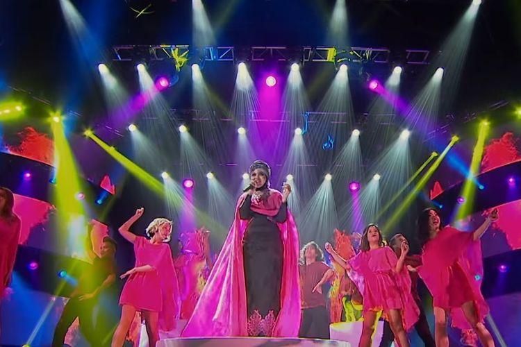 Siti Saniyah, perwakilan Indonesia di grand final Asias Got Talent 2019.