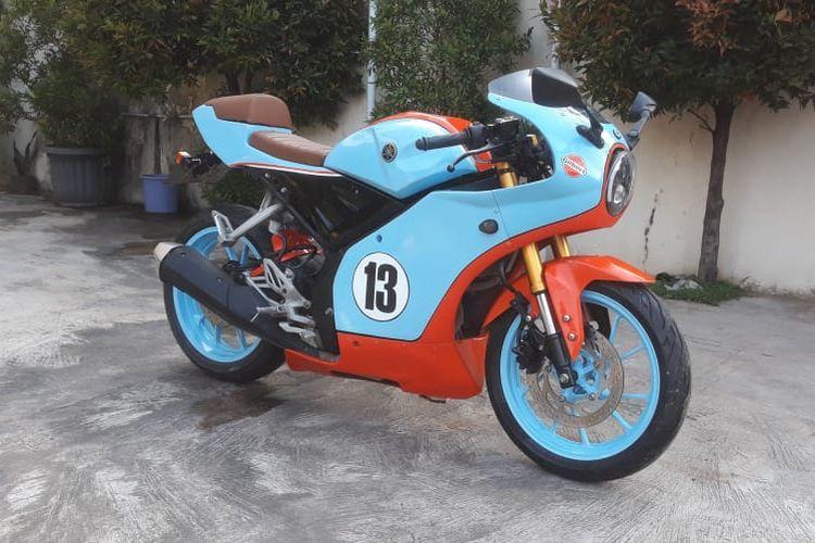 Modal Rp 10 Juta, Yamaha YZF-R15 Berubah Jadi Jadul
