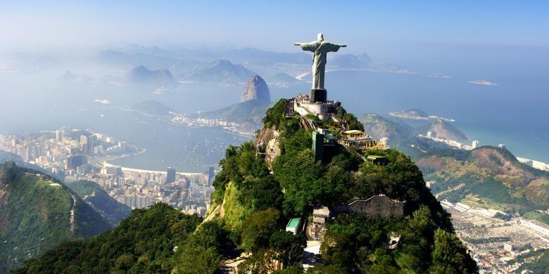 Christ the Redeemer Statue di Brazil