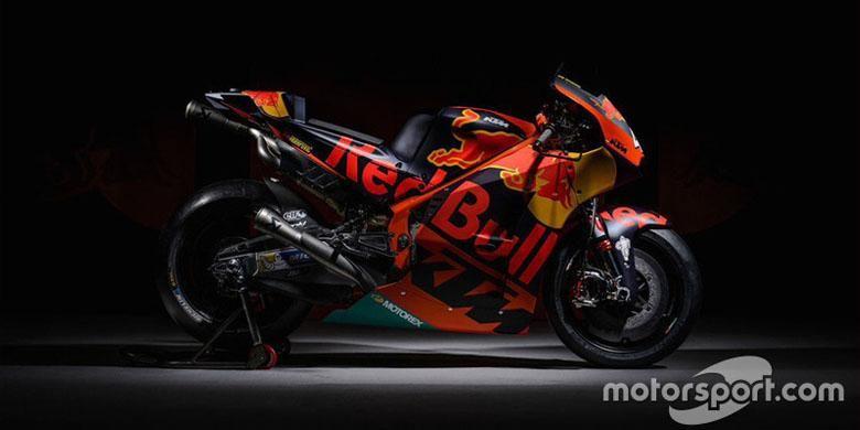 KTM RC16 untuk MotoGP musim 2017.