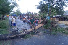 Hujan dan Angin Kencang Landa Ponorogo, 1 Tewas Tertimpa Reruntuhan Lapak