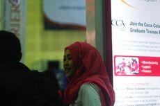 Stand Coca Cola Amatil Indonesia Diserbu Pencari Kerja