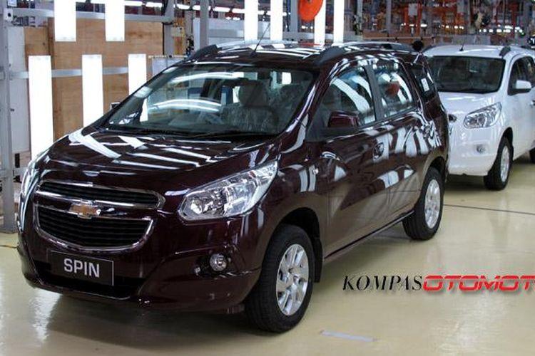 Chevrolet Spin akan mengalami perbaikan massal terkait masalah katup tangki bensin dan fusebox.