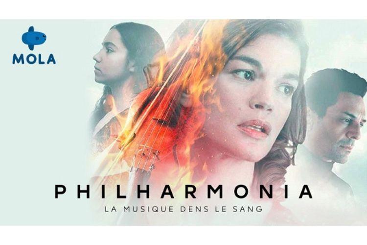 poster serial Philharmonia yang tayang di Mola