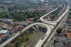 Anies Akui Ada Kekurangan Marka dan Rambu di Flyover Lenteng Agung dan Tanjung Barat