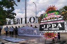 Puluhan Aktivis di Semarang Turun ke Jalan Serukan Keadilan bagi Korban KDRT, Minta Pelaku Dihukum Berat