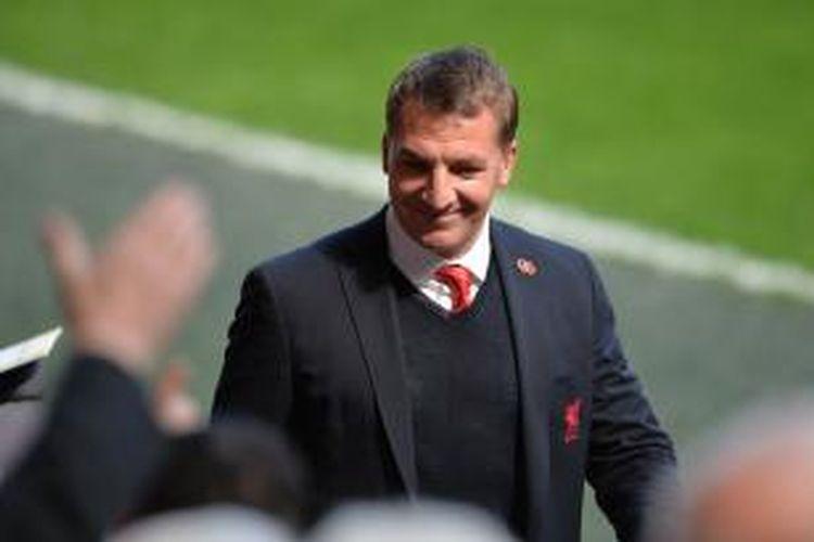 Pelatih Liverpool, Brendan Rodgers.