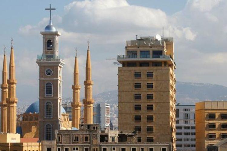 Masjid Dan Gereja Megah Berdampingan Di Beirut Halaman All