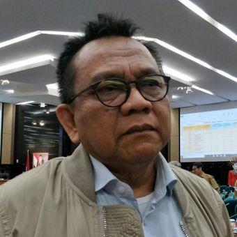 Ketua DPD Partai Gerindra DKI Jakarta Mohamad Taufik di gedung DPRD DKI Jakarta, Jalan Kebon Sirih, Jakarta Pusat, Senin (17/9/2018).