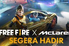 Free Fire Kolaborasi dengan McLaren Racing, Hadirkan McLaren P1 dan Supercar