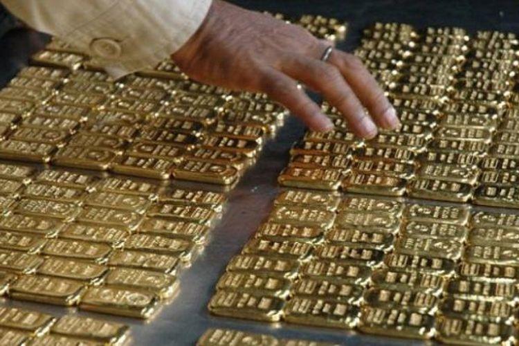 Ilustrasi: emas batangan