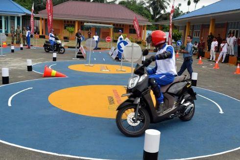 AHM Resmikan Safety Riding Lab di Sumatera Utara