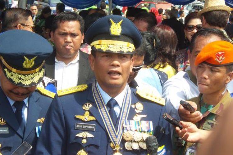 Marsekal Agus Supriatna saat menjabat Kepala Staf TNI Angkatan Udara