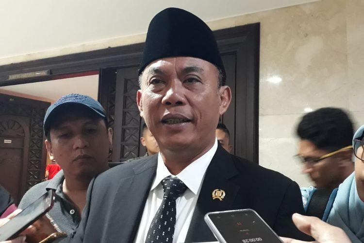 Ketua DPRD DKI Jakarta Prasetio Edi Marsudi di Gedung DPRD DKI Jakarta, Jalan Kebon Sirih, Jakarta Pusat, Senin (1/7/2019).
