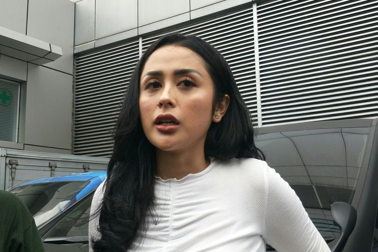 Selvi Kitty saat ditemui di kawasan Tendean, Jakarta Selatan, Jumat (31/1/2020)