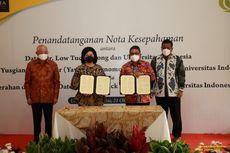 UI Terima Donasi Rp 50 Miliar untuk Beasiswa dari Dato Low Tuck Kwong