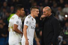 Pesan 2 Menit Zidane Bikin Pemain Real Madrid Kaget