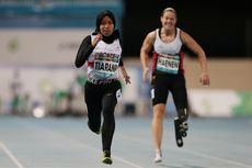 Cetak Rekor Dunia Lari 100 Meter Para Atletik, Karisma Evi: It's Okay To Be Not Perfect